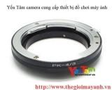 Pentax lens to Olympus Om4/3