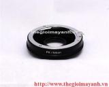 Pentax PK Lens to Nikon Body