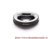 Milontal MD Lens to Nikon