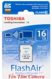 Thẻ nhớ SD Wifi Toshiba 16GB Class10 FlashAir