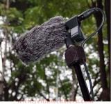 Tóc chắn gió Microphone