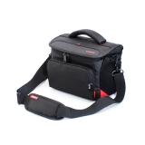 Túi Canon EOS dây đeo pha da (Đen)