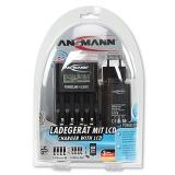 Bộ sạc pin Ansmann Powerline 4 PRO (Đen)