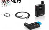 Micro cài ve áo không dây Sennheiser AVX-MKE2 SET
