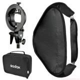 Sofbox gá đèn  flash godox  50 x50 cm