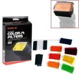 Filter 7 màu cho đèn flash Godox