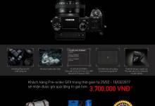 Chương trình Pre-order Fujifilm GFX 50S