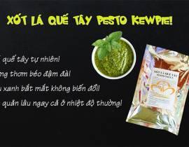Mới: Xốt Pesto Lá Quế Tây Kewpie | Sắc xanh lâu phai, hương vị khó cưỡng!