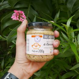 Mù Tạc - Whole Grain Mustard (Beaufor) Hũ 200gr