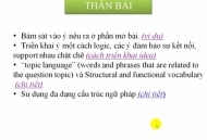 CHIẾN THUẬT CHUNG LÀM IELTS WRITING TASK 2 - PHẦN 2