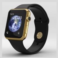 Apple Watch Edition 42mm 18-Karat Yellow Gold Case with Black
