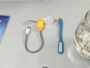 Quạt mini USB - Ðèn mini USB