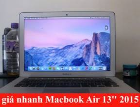 Đánh giá nhanh Macbook Air 13