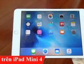 IOS 9 trên iPad Mini 4