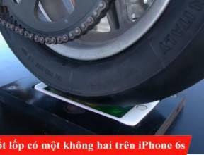 Màn đốt lốp có một không hai trên iPhone 6s