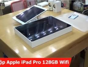 Khui hộp Ipad Pro 128gb wifi xám tại USCOM