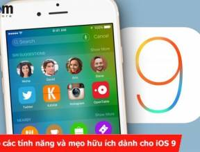Tổng hợp các tính năng và mẹo hữu ích dành cho iOS 9
