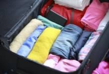 Cách xếp đồ được nhiều nhất vào Vali du lịch